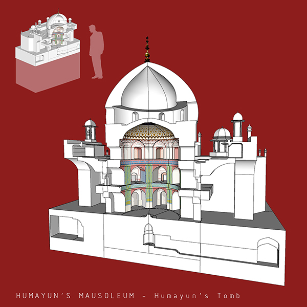 Humayun's-Tomb_3